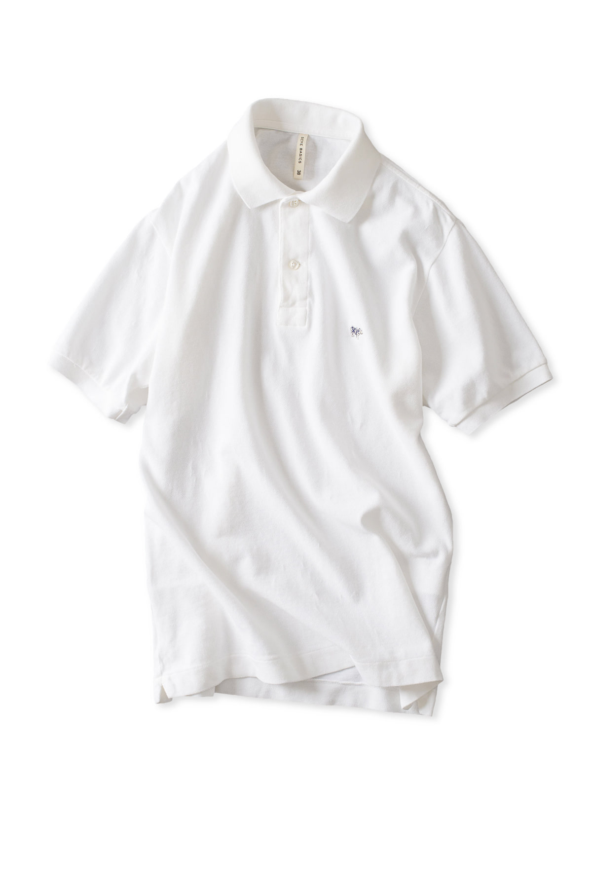Scye Basics : Cotton Pique Polo Shirt (Off White)
