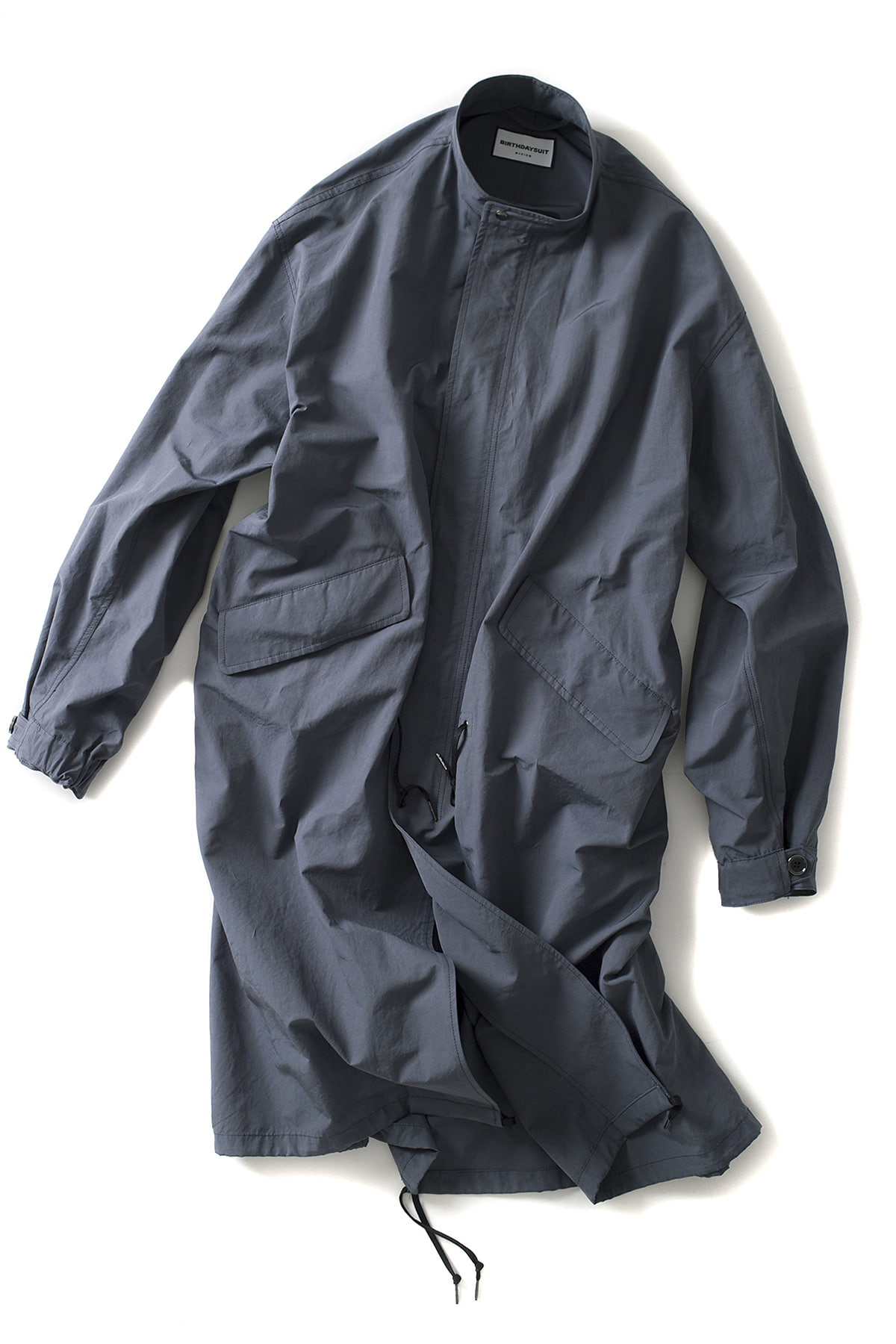 BIRTHDAYSUIT : Fishtail Parka (L.Slate Grey)
