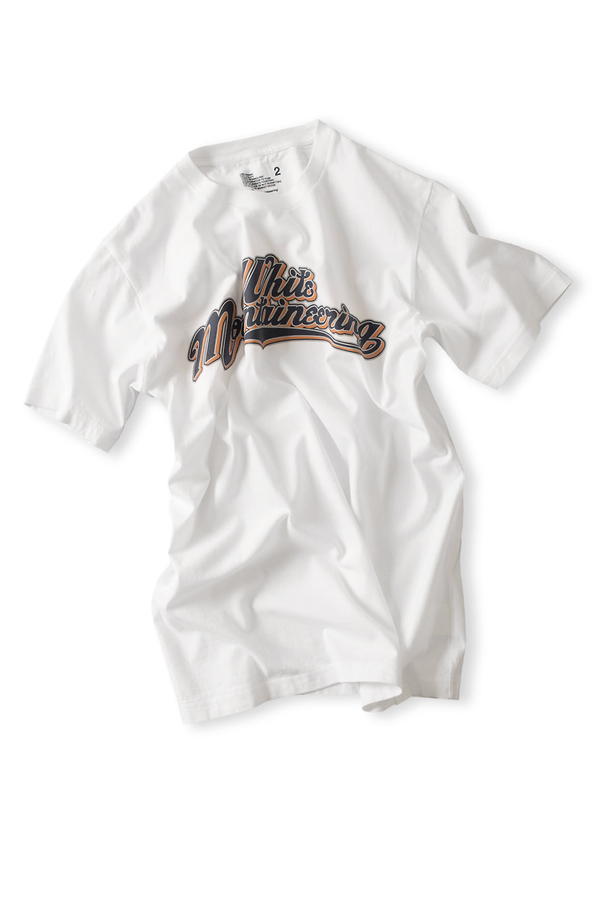 WHITE MOUNTAINEERING : Printed T-Shirt Team W.M (White)