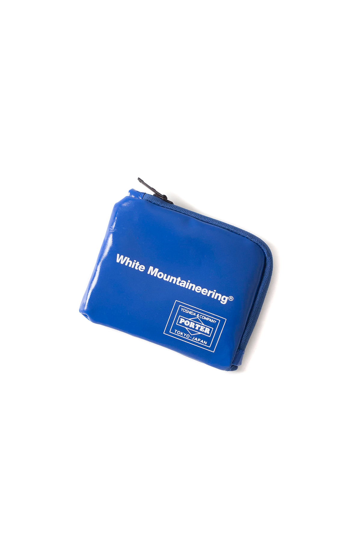 WHITE MOUNTAINEERING : WM x PORTER Wallet (Blue)
