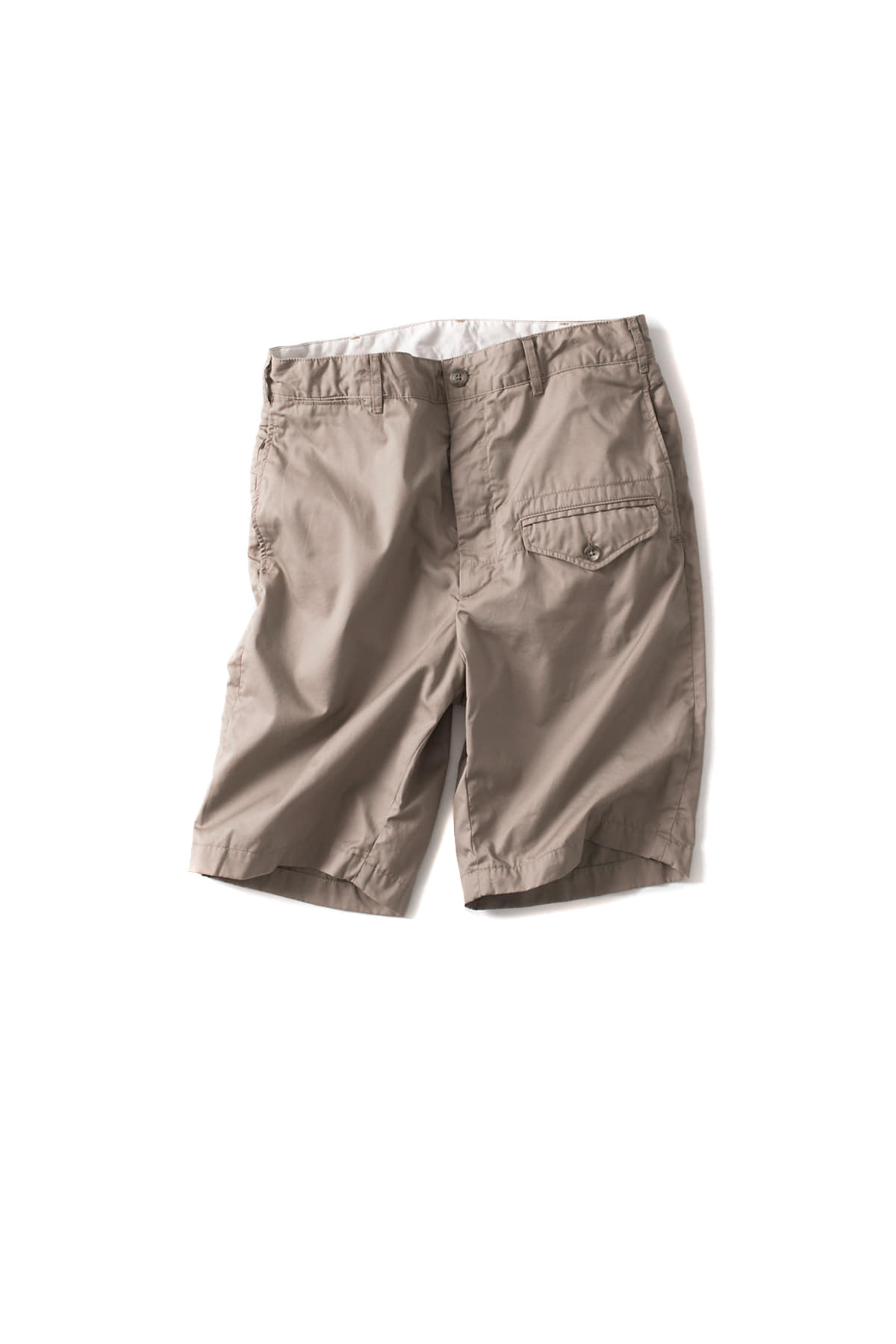 Engineered Garments : Ghurka Short (Khaki High Count Twill)