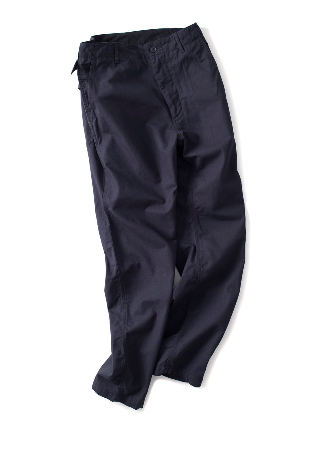 Engineered Garments : Ground Pants (DK.Navy Cotton Ripstop)