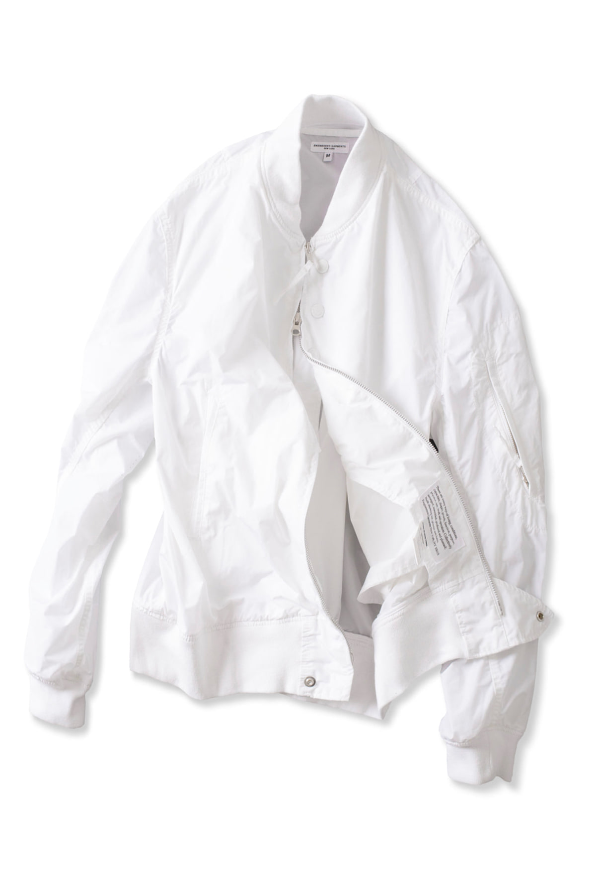 Engineered Garments : Aviator Jacket (White)