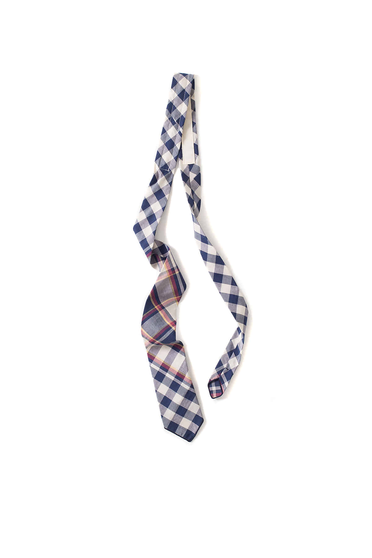 Engineered Garments : Neck Tie (Navy/Red/Yellow Big Plaid Modras)