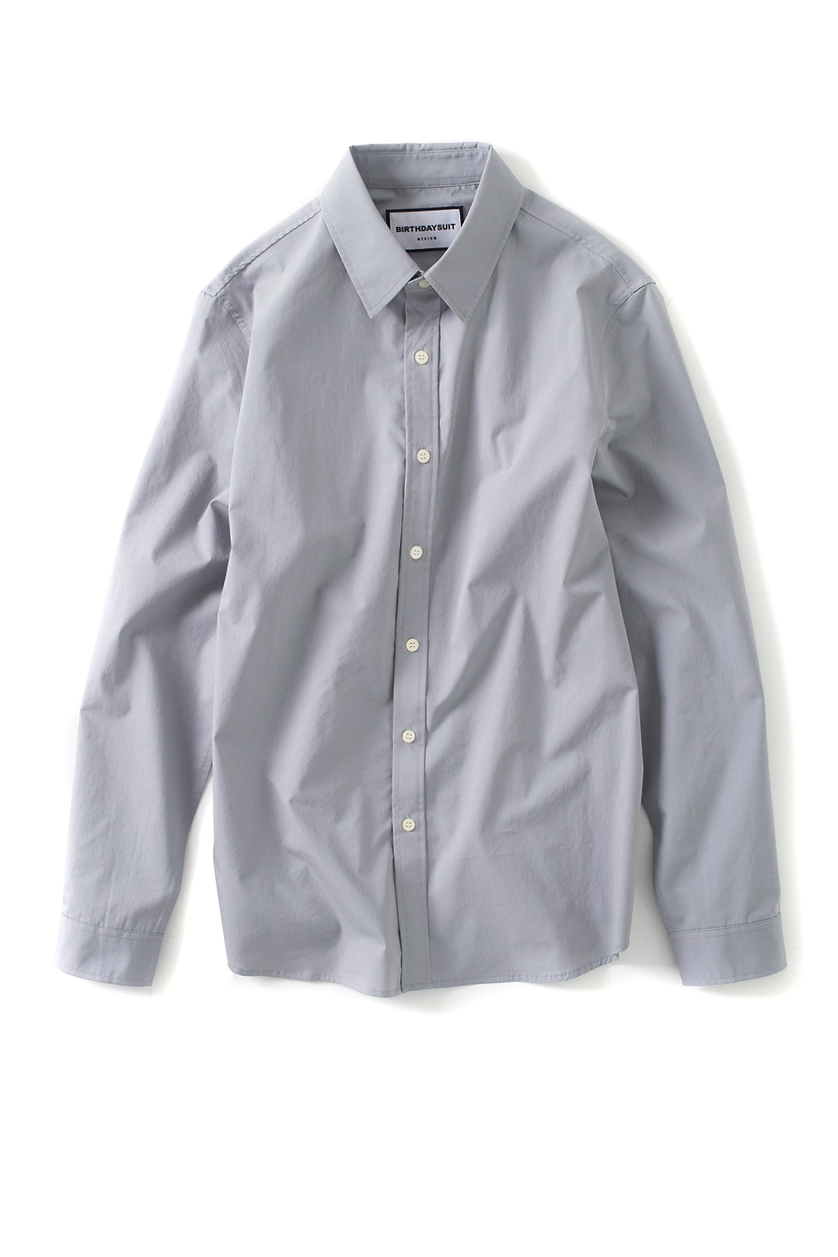 BIRTHDAYSUIT : Basic Shirt (Silver Grey)