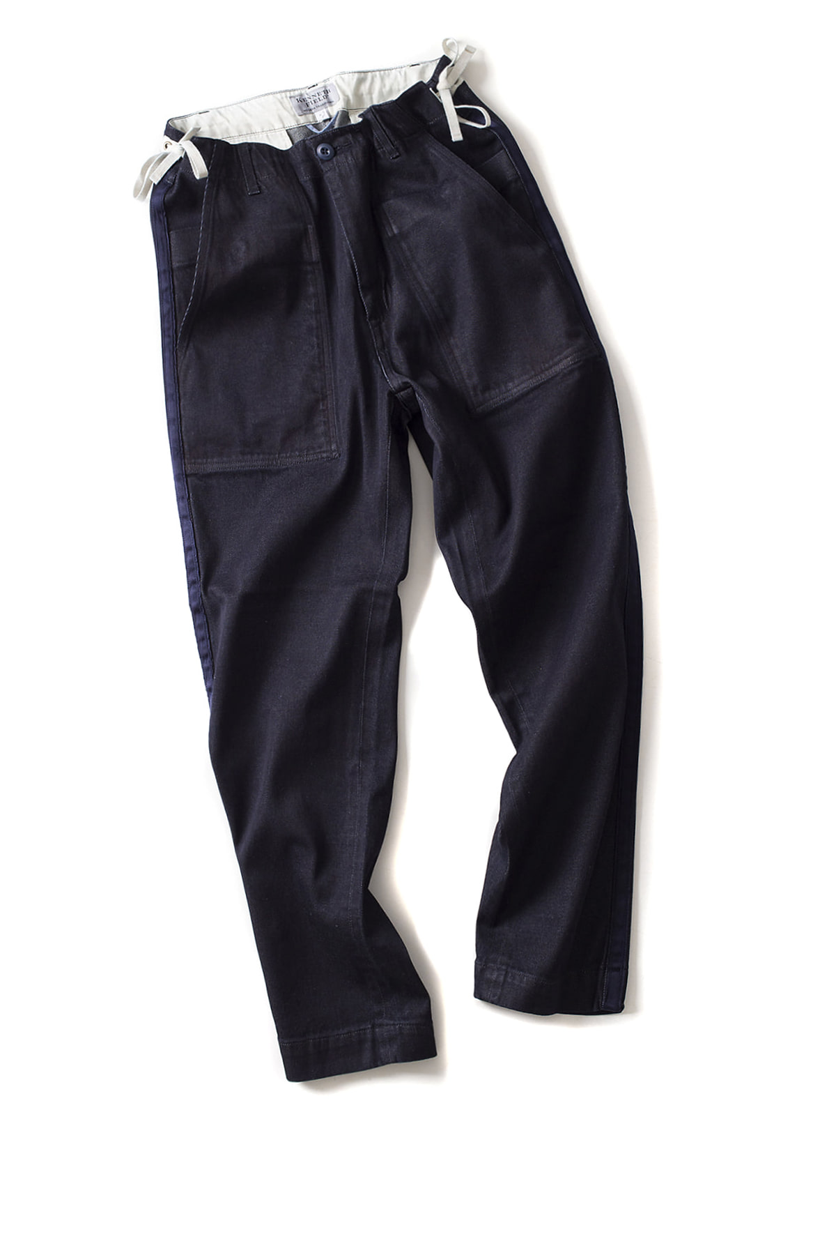 Kenneth Field : Ceremony Trouser Denim (Indigo)
