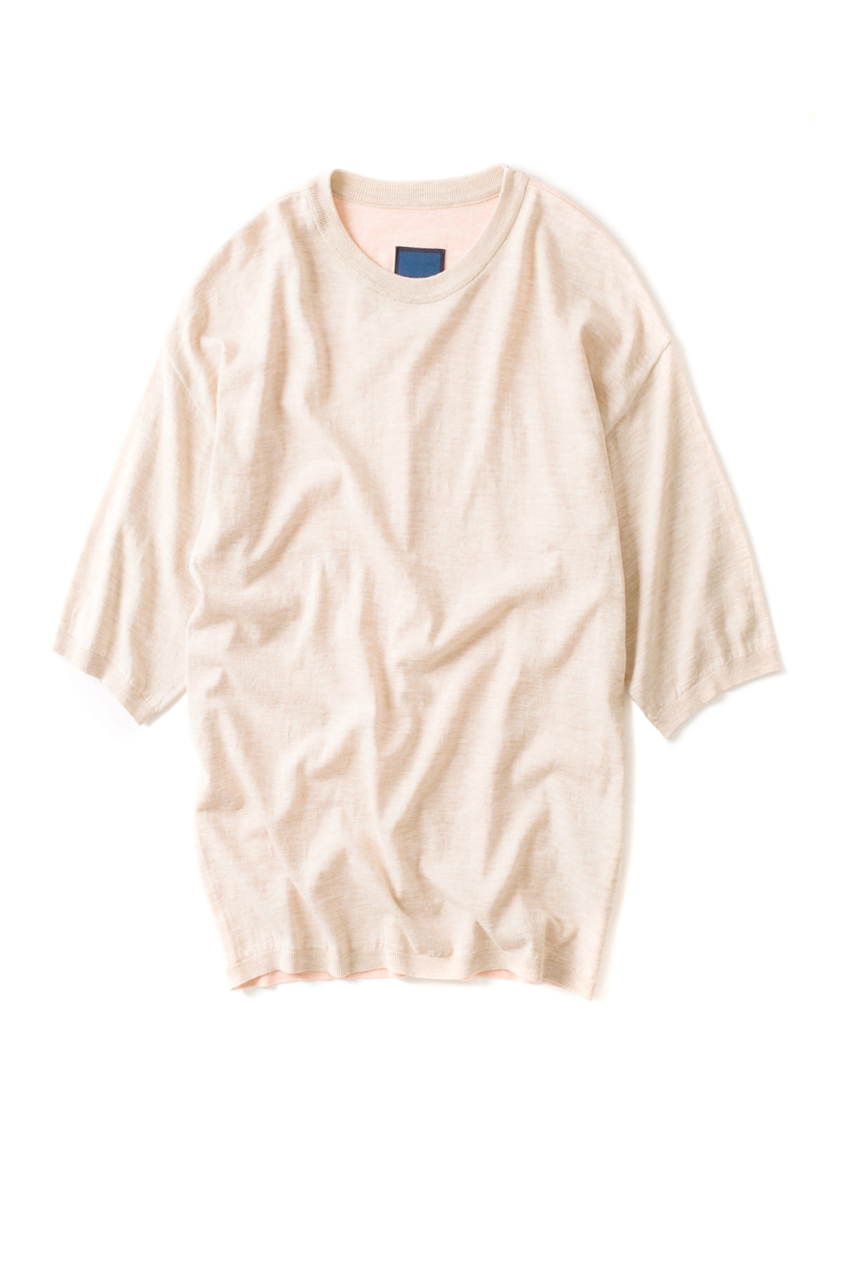Document : M130 Cotton Sweater (Beige / Orange)
