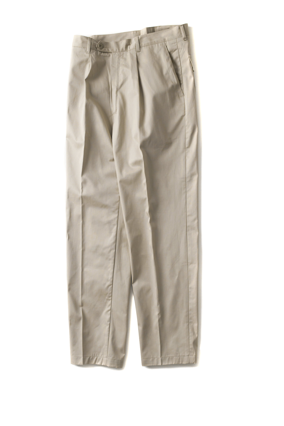 CAMO : Wide - Trousers (Drill Beige)