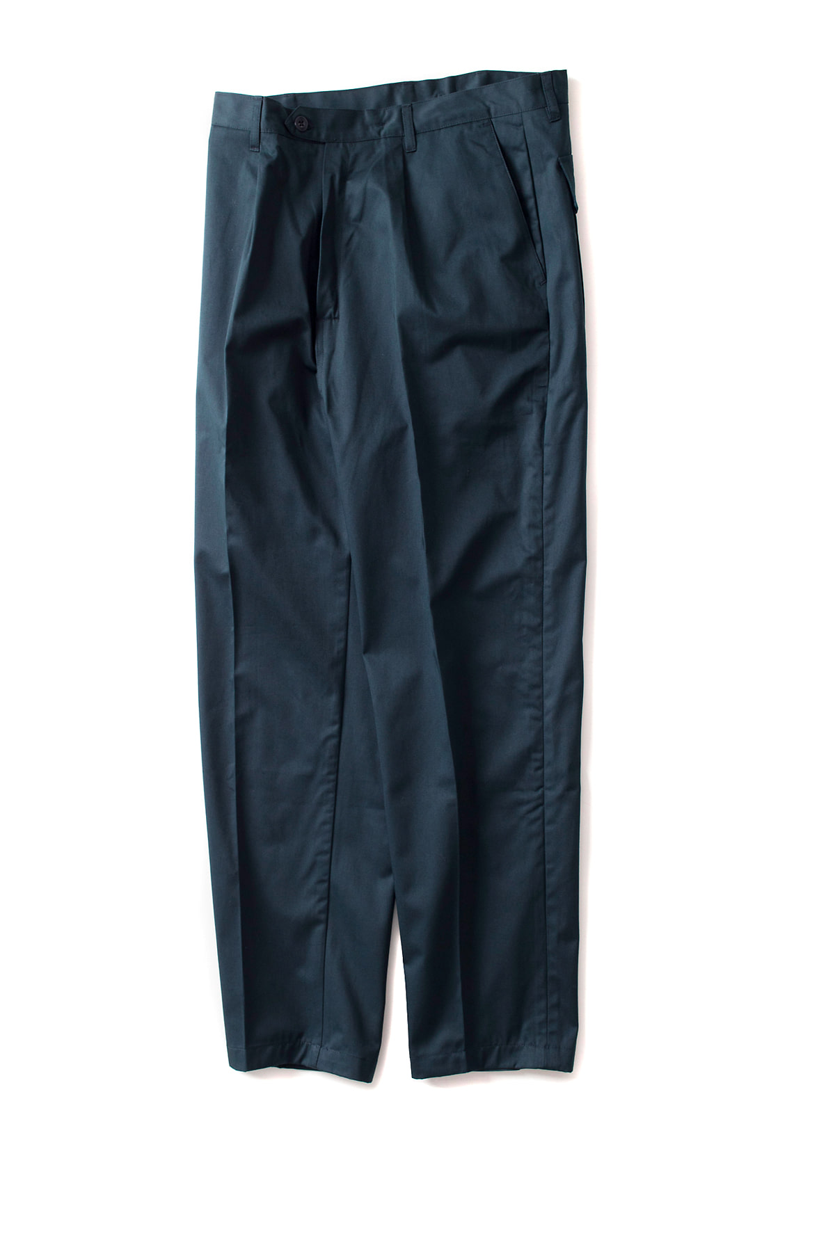 CAMO : Wide - Trousers (Drill Navy)