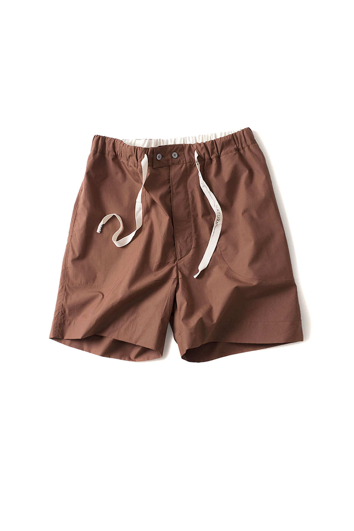 Federico Curradi : Calciante Shorts (Brown)