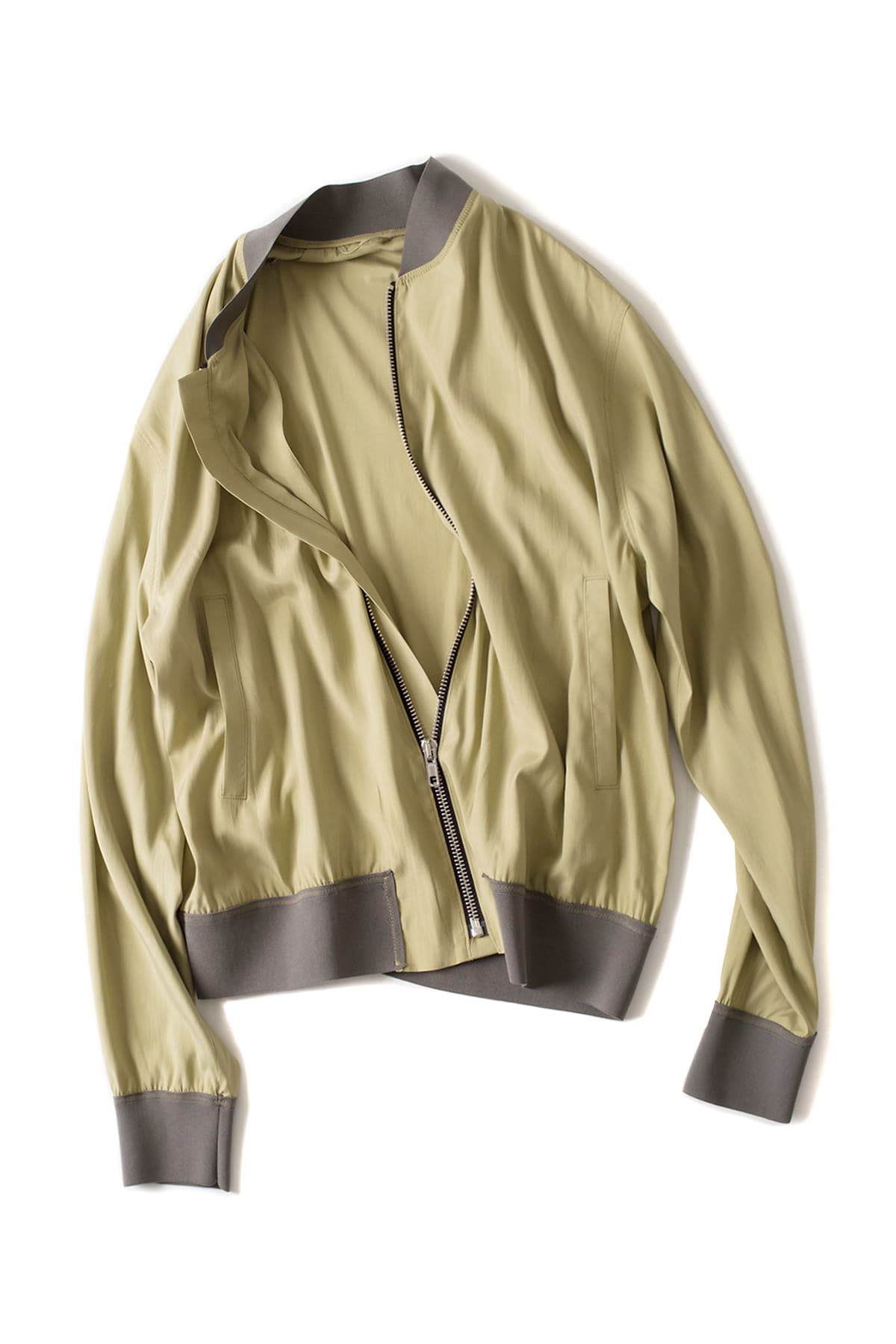 Federico Curradi : Bomber Jacket (Light Green)