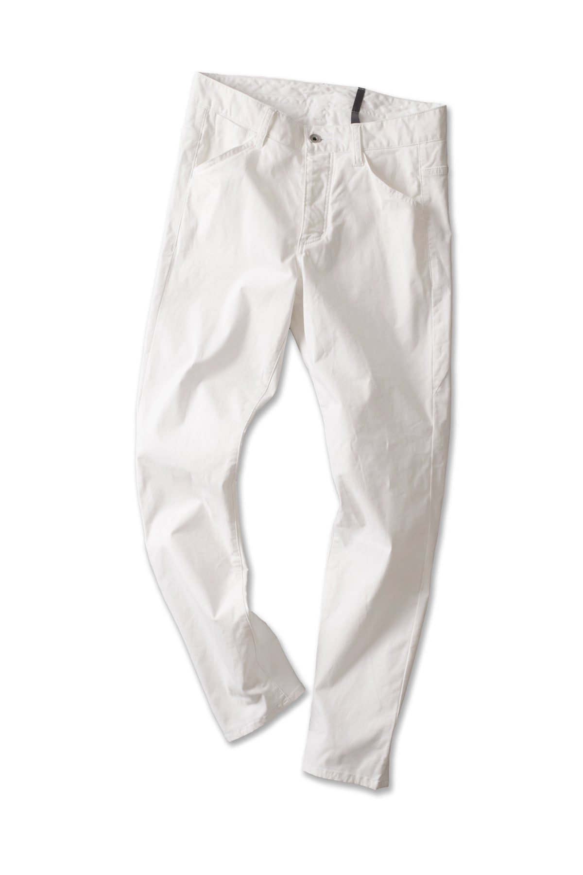ATTACHMENT / KAZUYUKI KUMAGAI : High Power Stretch Twill Slim Pants (Off White)