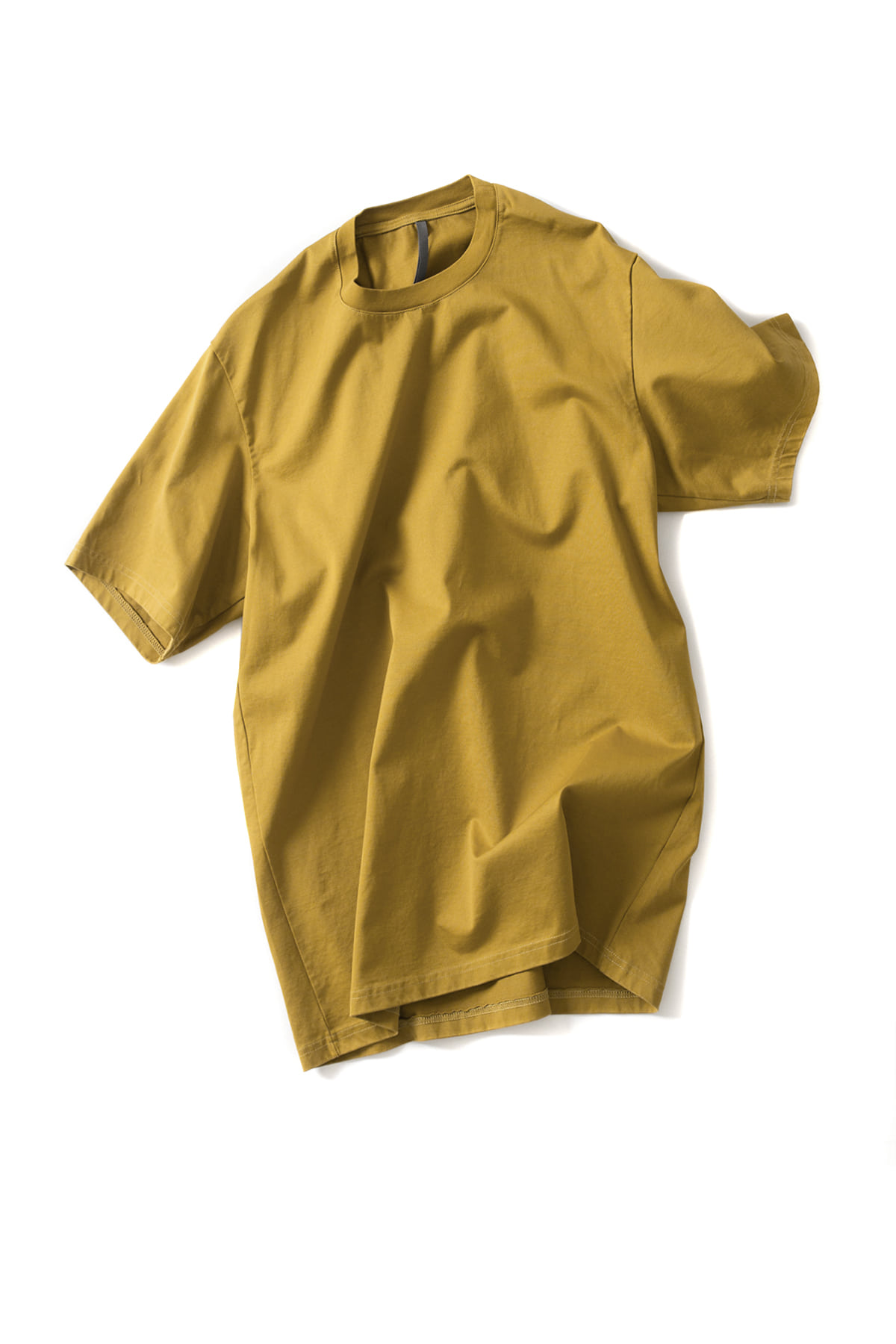 ATTACHMENT / KAZUYUKI KUMAGAI : Classic Short-Sleeve T-shirt (Yellow)