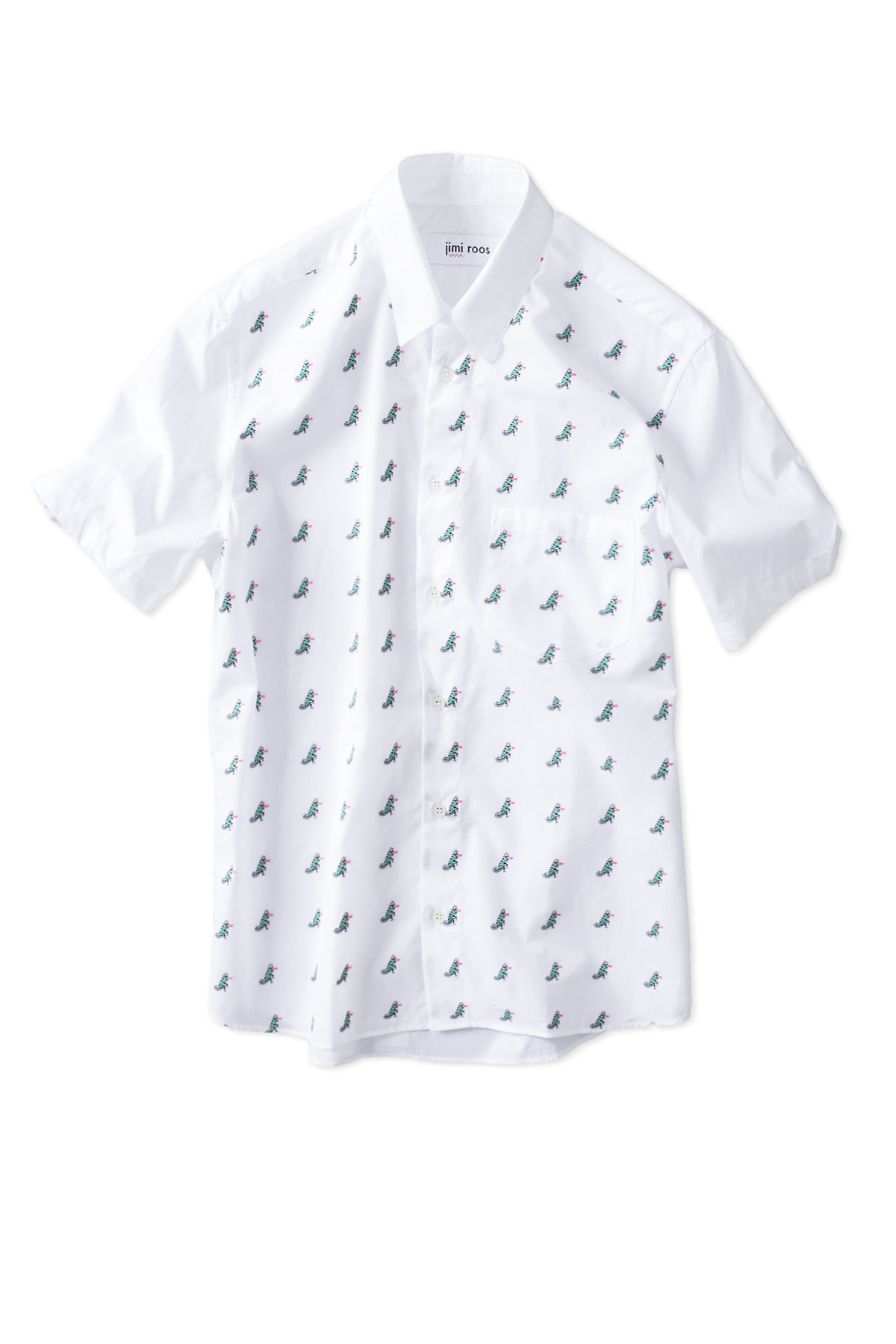 jimi roos : Crock Shirt (White)