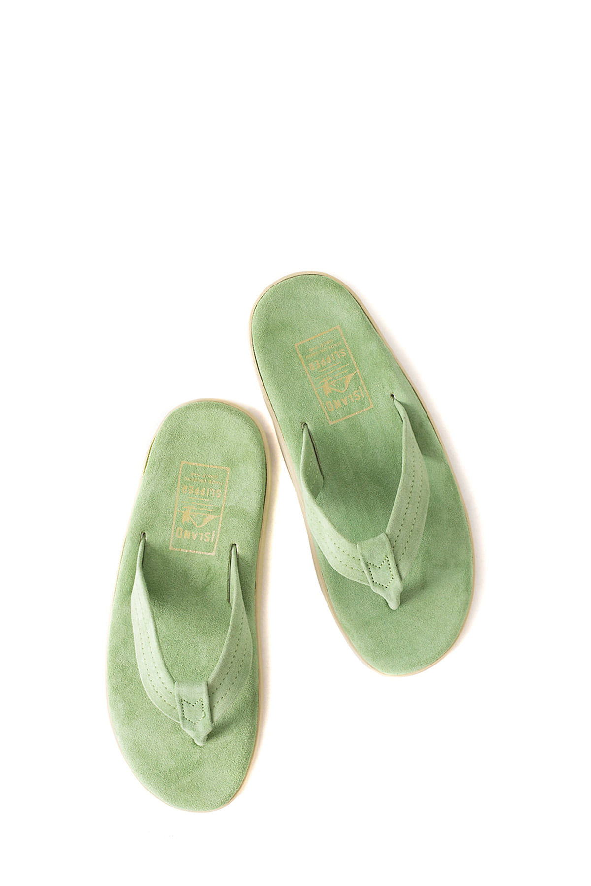 ISLAND SLIPPER : PT203 (Kelly Green Suede)