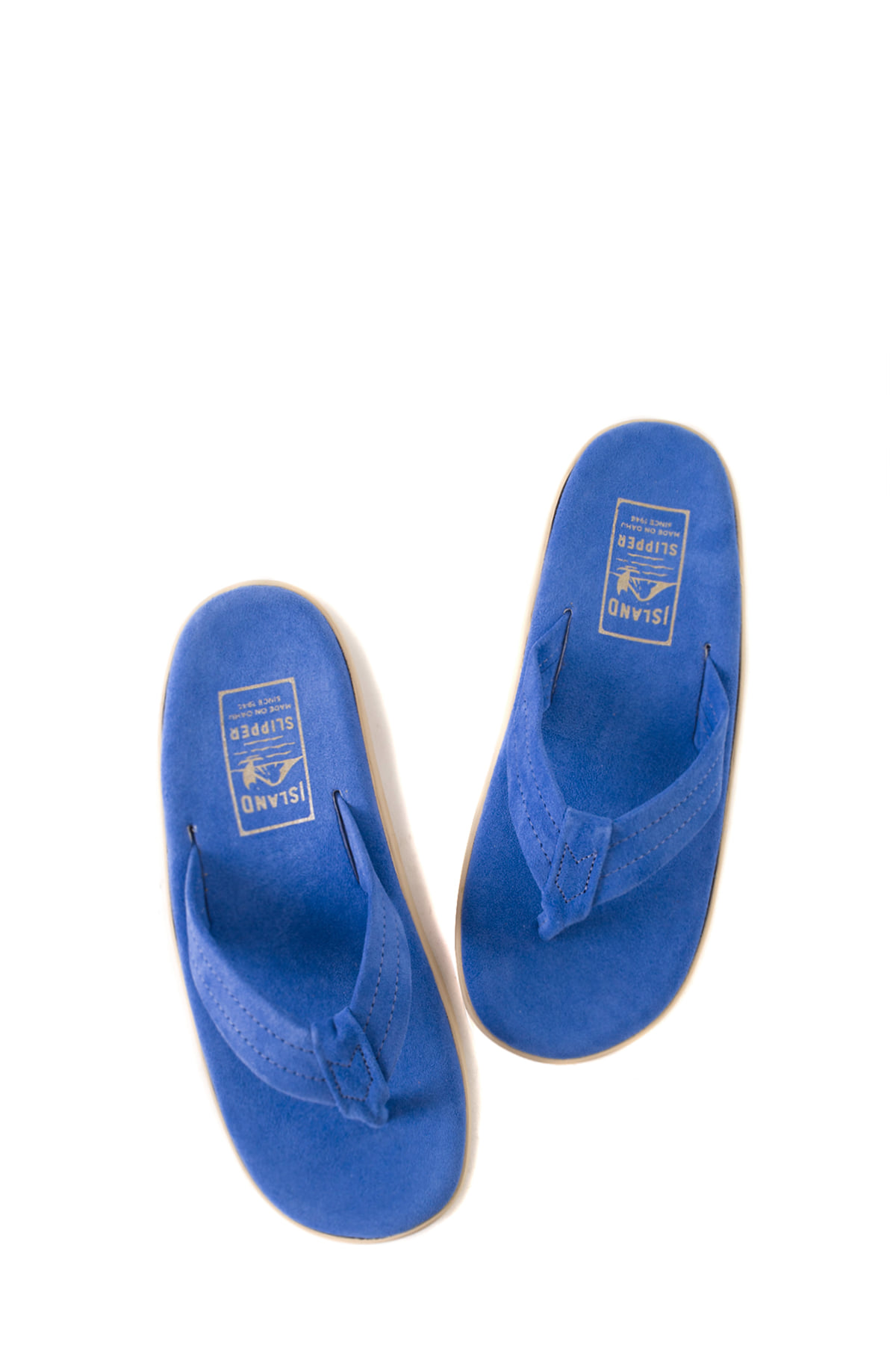 ISLAND SLIPPER : PT203 (Electric Blue Suede)