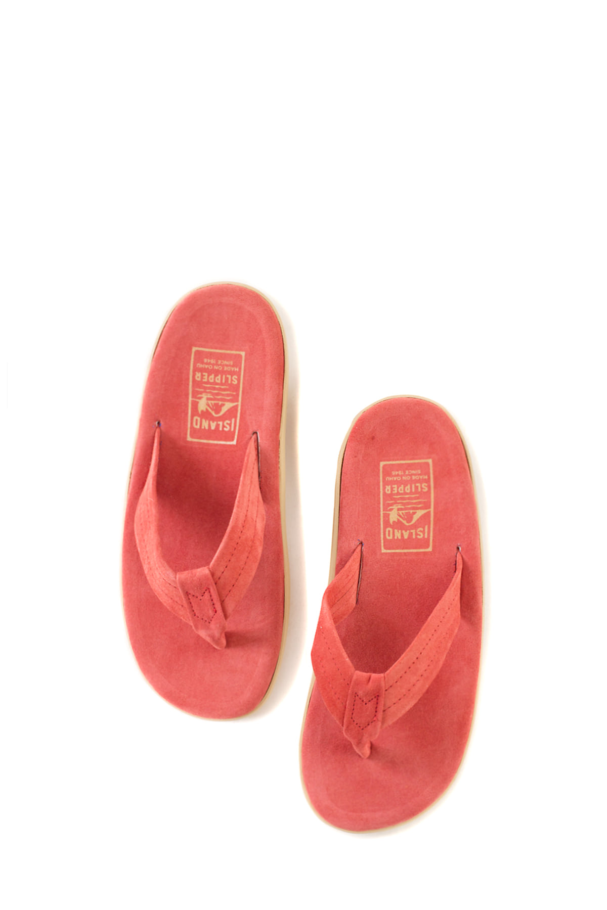 ISLAND SLIPPER : PT203 (Red Suede)