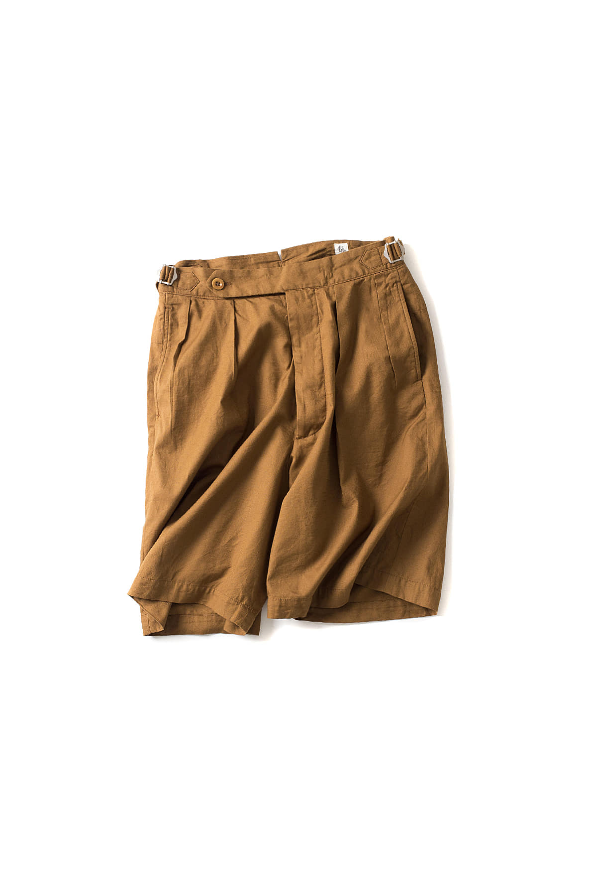 Kaptain Sunshine : Riviera Short Pants (Brown)