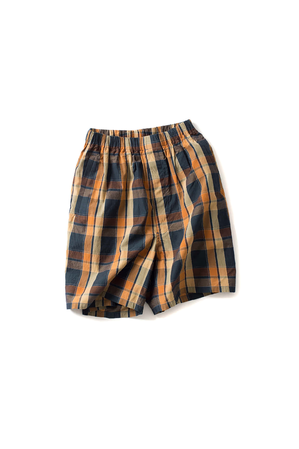 Kaptain Sunshine : Athletic Shorts (Brown Check)