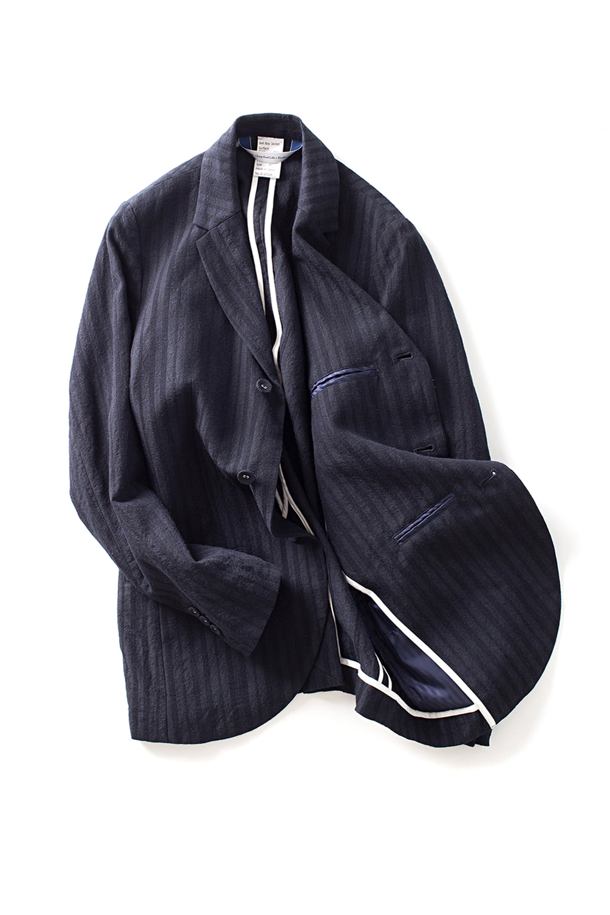 EEL : Bellboy Jacket (Navy Stripe)