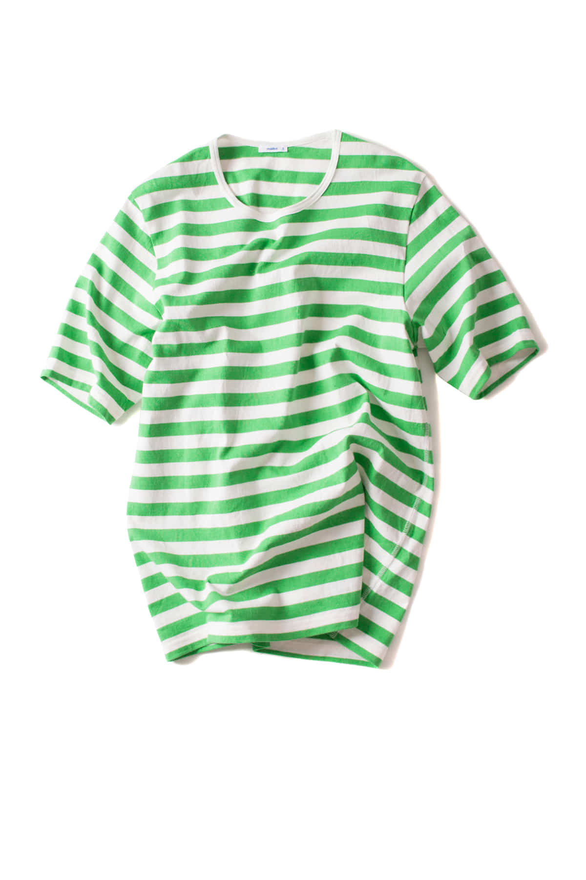 maillot : Border Short Sleeve T-Shirt (Green)