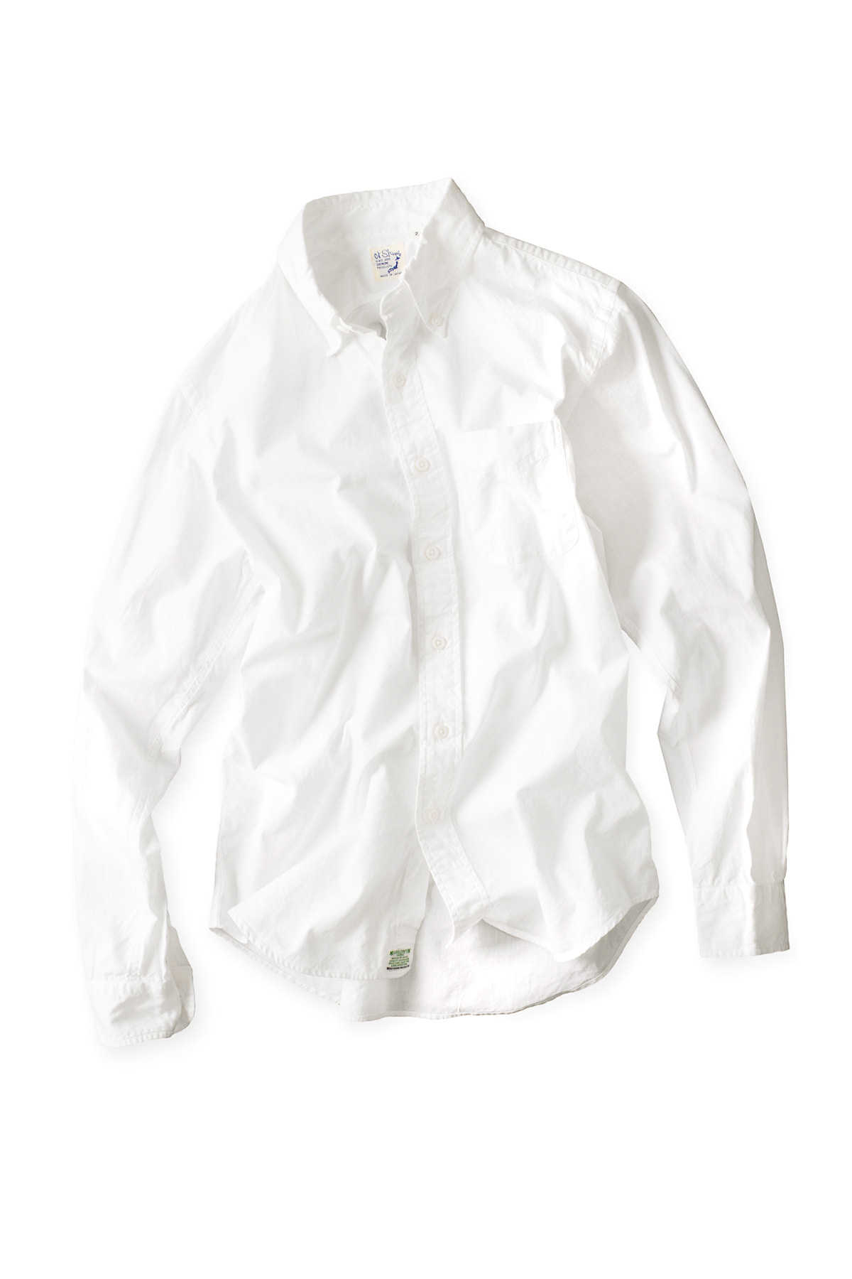 orSlow : Button Down Shirts (White)