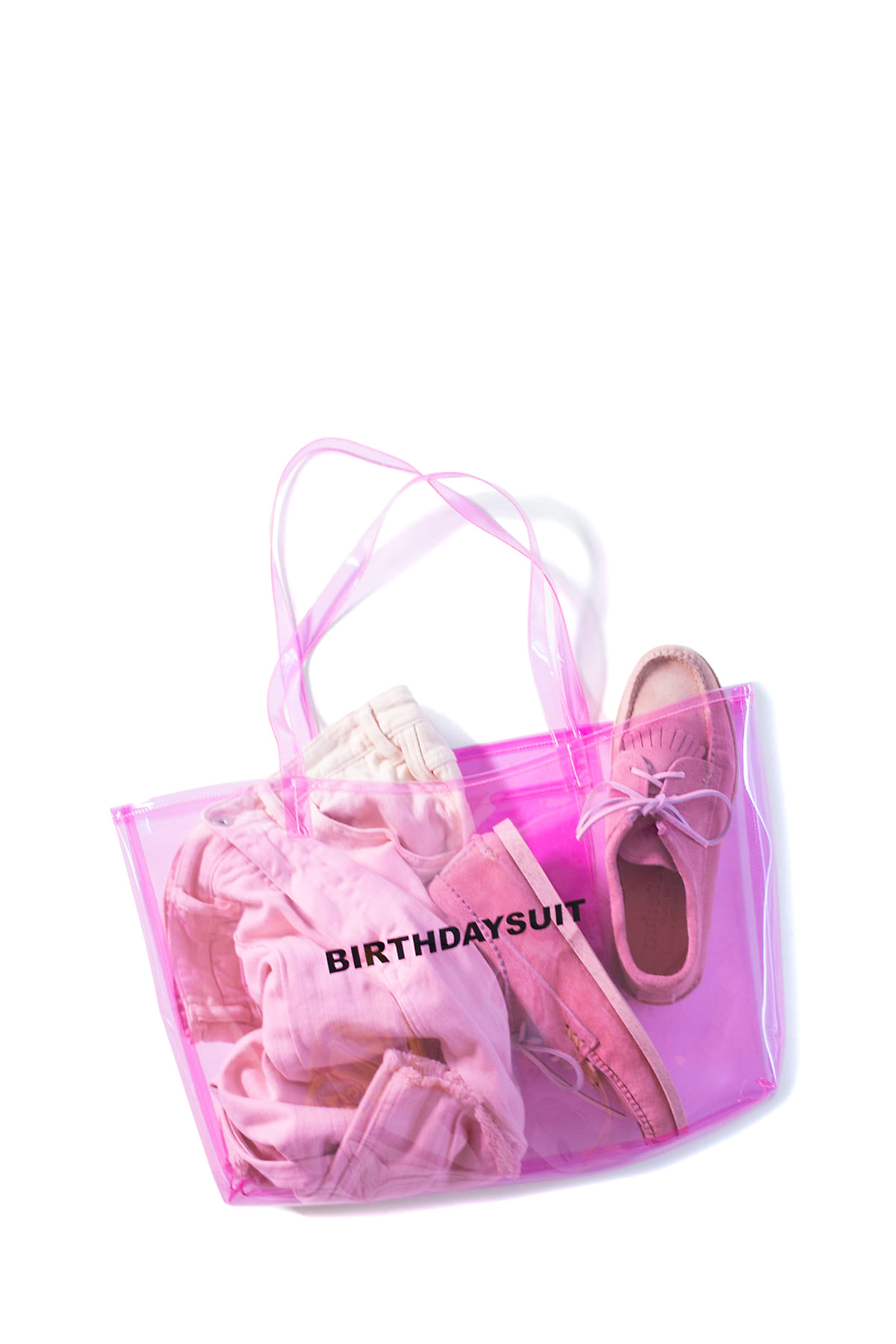BIRTHDAYSUIT : LOGO PVC (Pink)