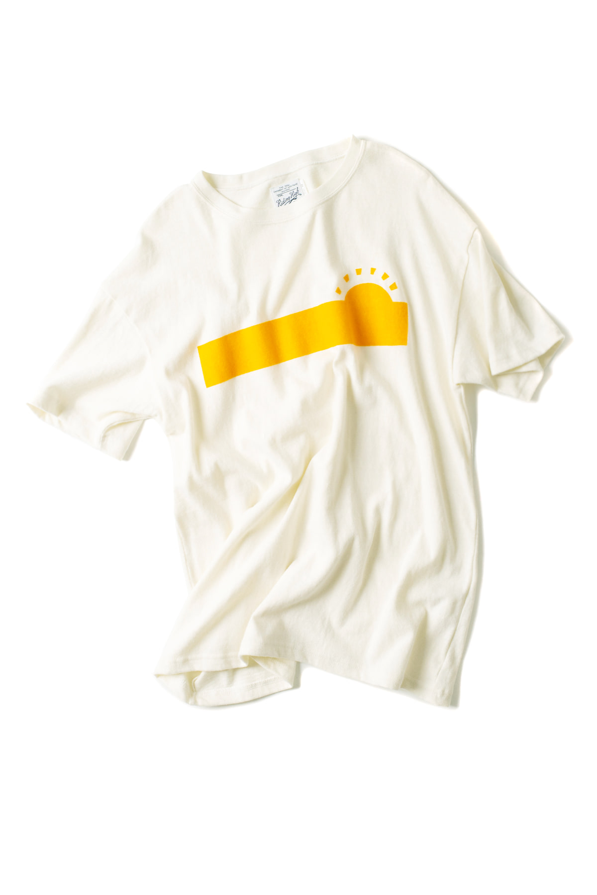 Riding High : Ruff Knit Flocky Tee (Sun)