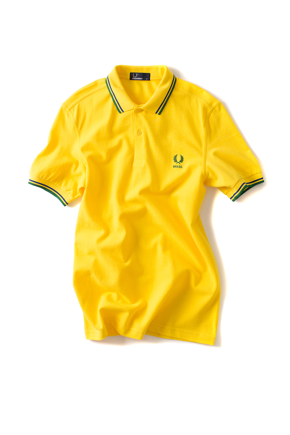 FRED PERRY : The Country Shirt BRAZIL (Yellow)