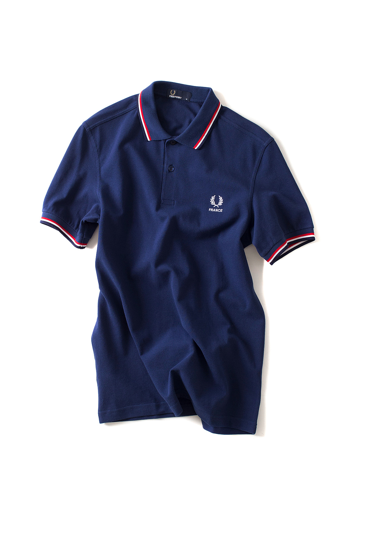 FRED PERRY : The Country Shirt FRANCE (Navy)
