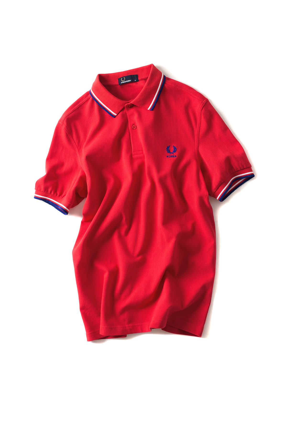 FRED PERRY : The Country Shirt KOREA (Red)