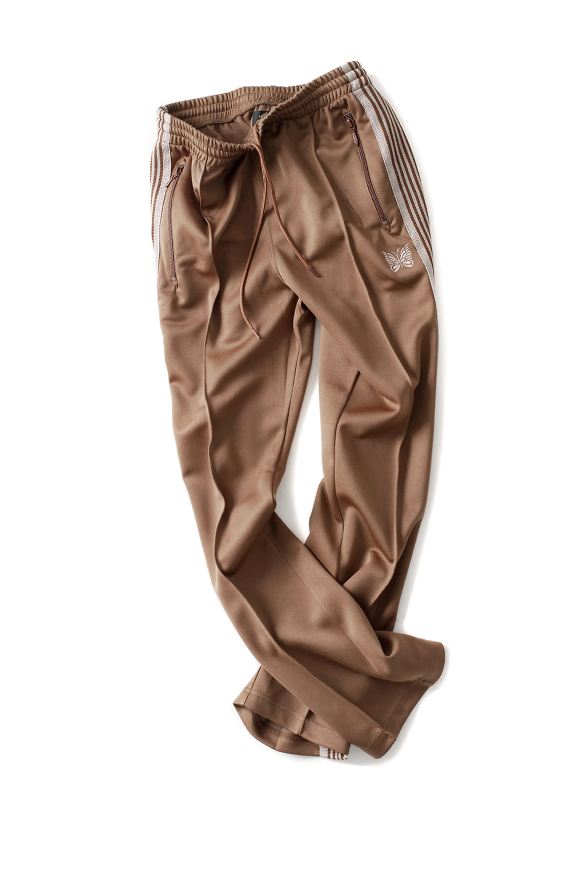 NEEDLES : Narrow Track Pant (Brown)