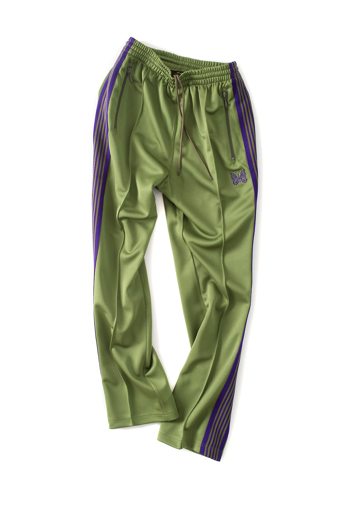 NEEDLES : Narrow Track Pant (Lt.Green)