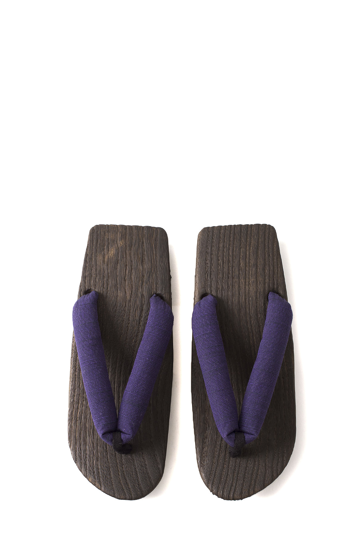 NEEDLES : Geta Sandals With Tsumugi Thong (Purple)
