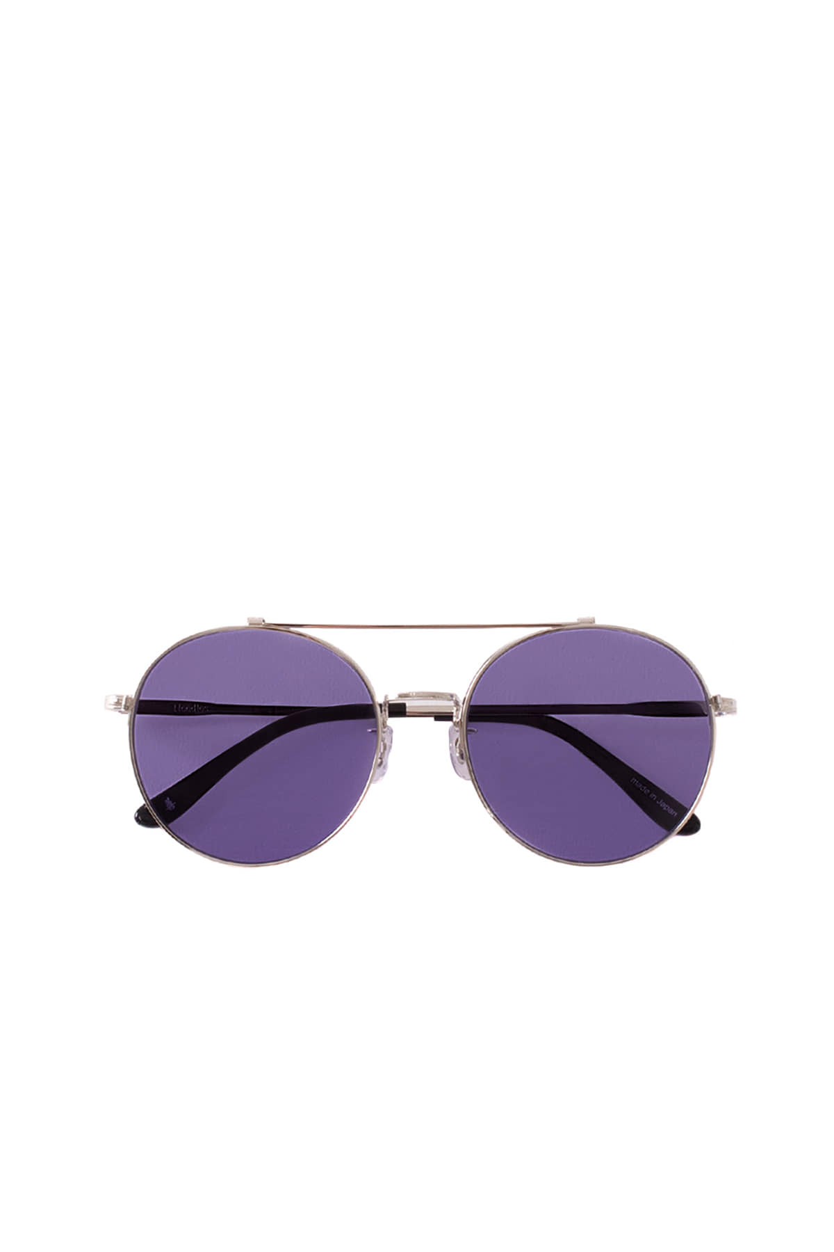 NEEDLES : Sean Sunglass (Silver / Purple)