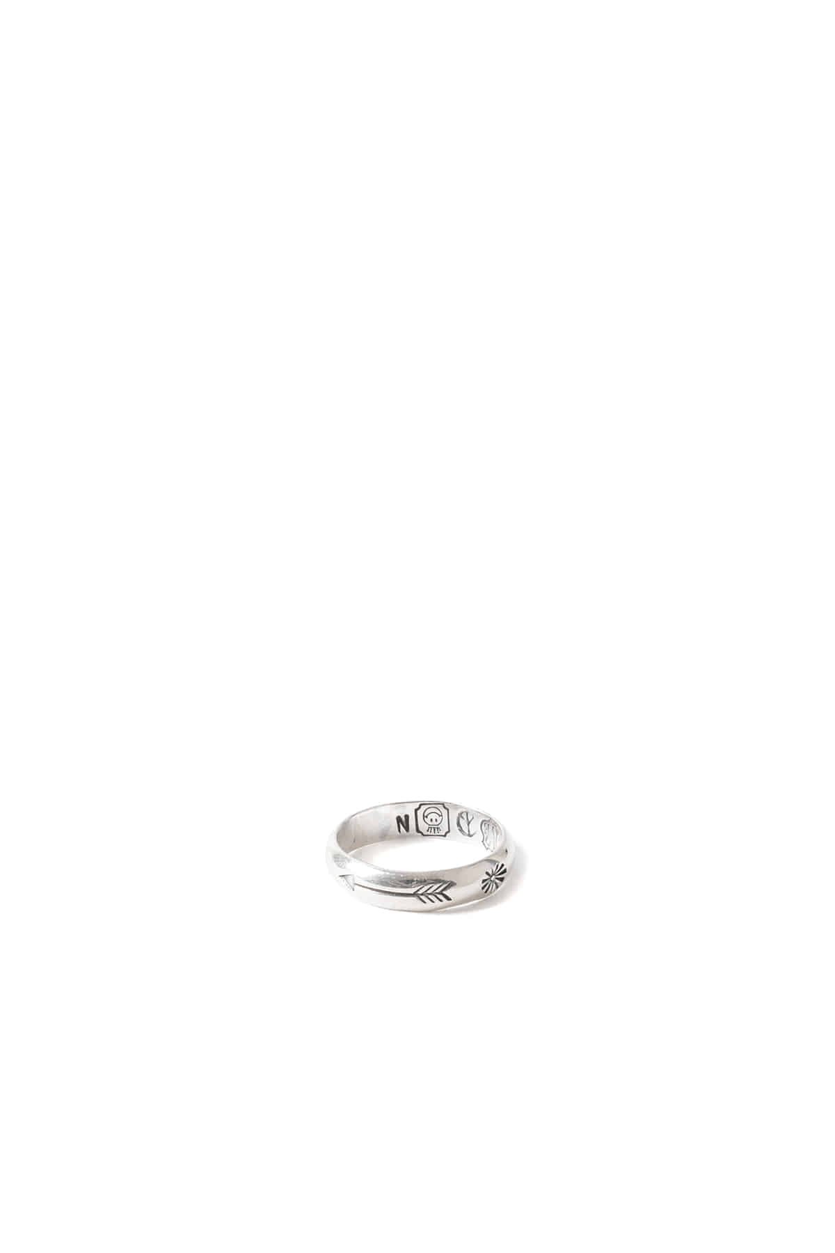 North Works : Stamp Ring - W024 (Silver)