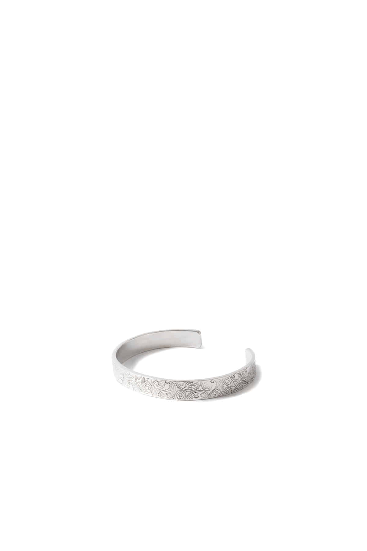 North Works : Stamped Bangle - W219 (Silver)