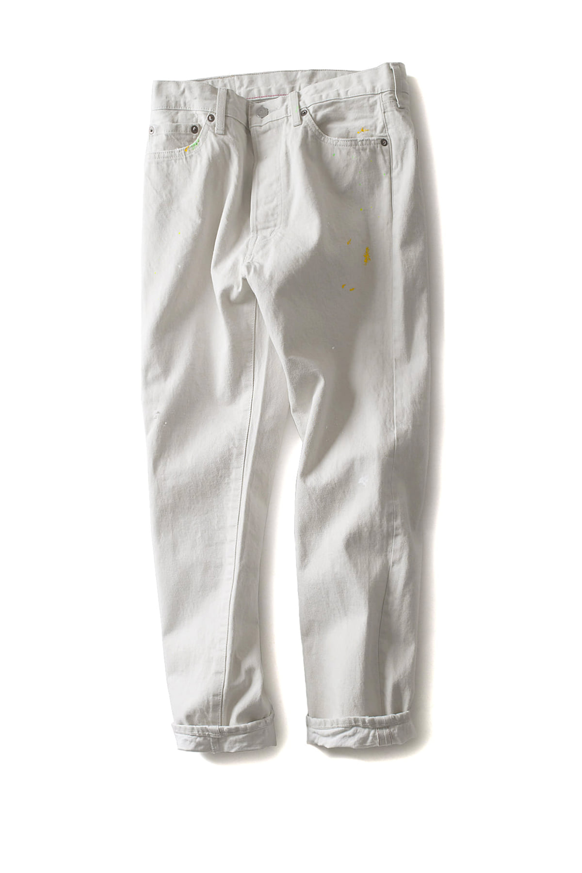 ordinary fits : 5pocket Ankle Denim White Used (Used)