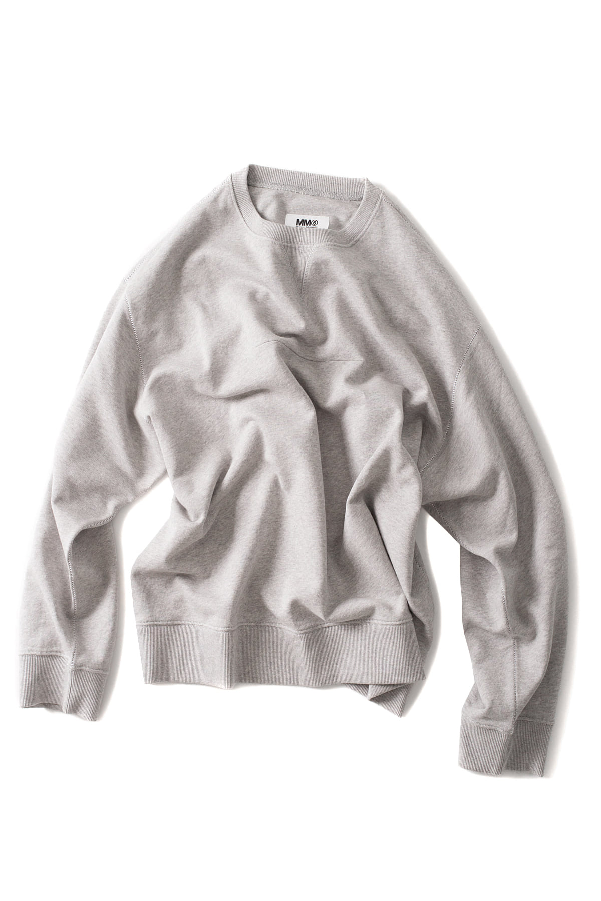 MM6 Maison Margiela : Basic Sweatshirt (Grey)