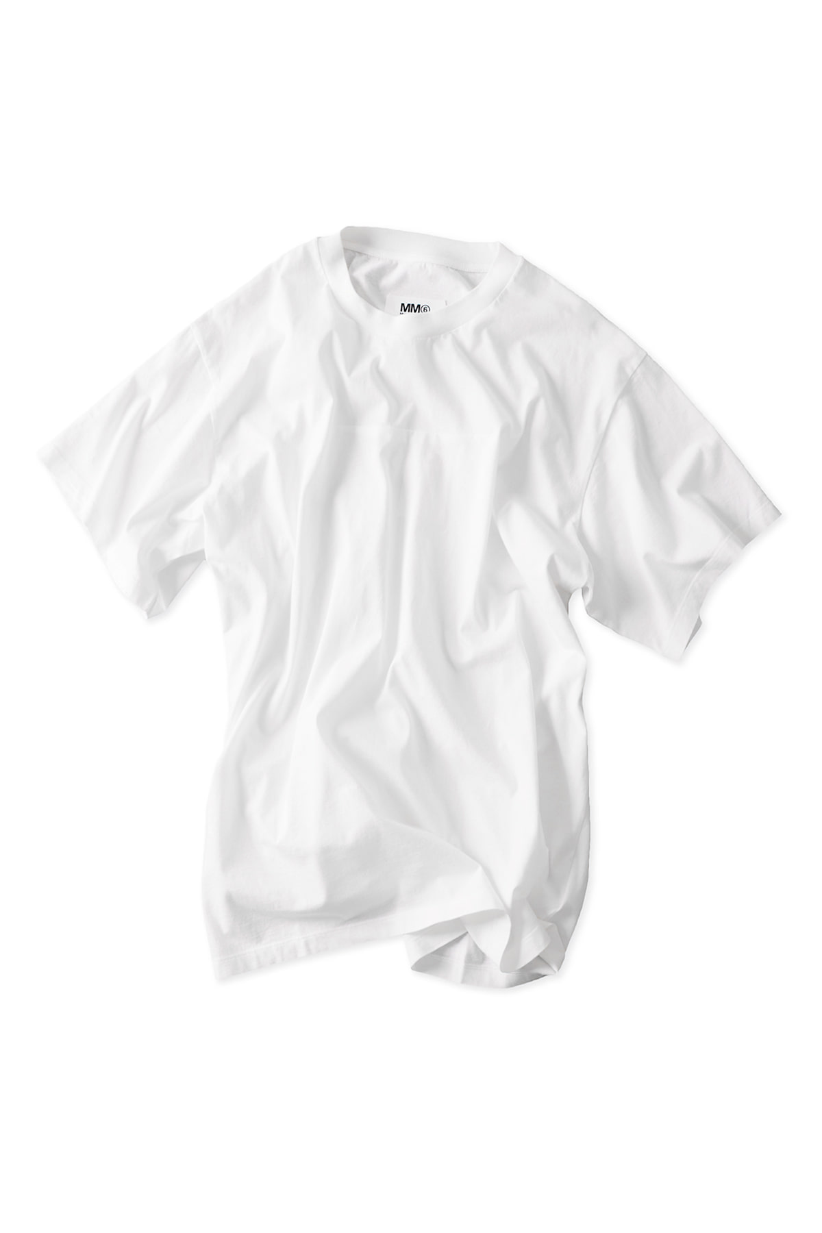 MM6 Maison Margiela : Oversized T-Shirt (White)