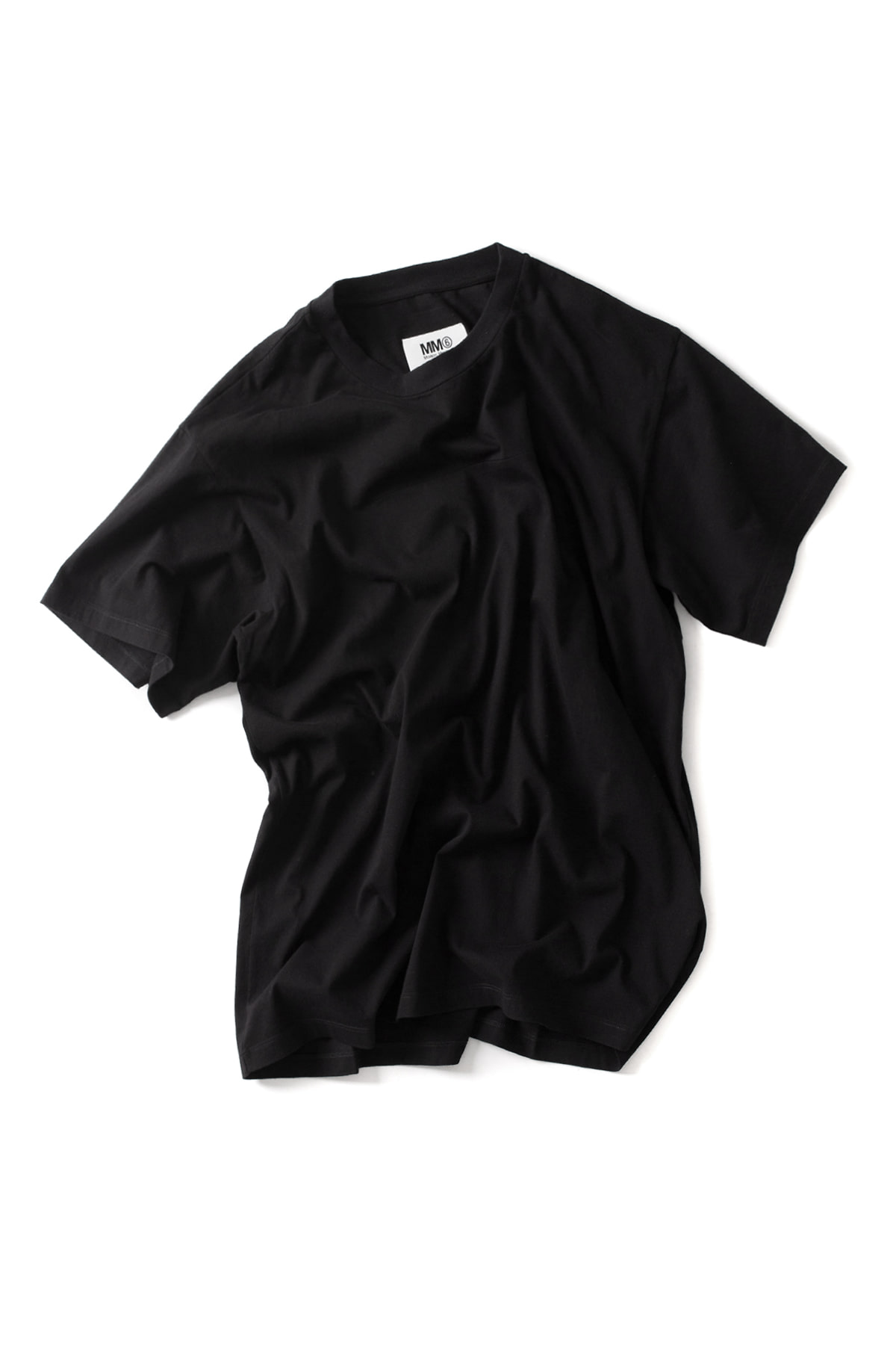 MM6 Maison Margiela : Oversized T-Shirt (Black)