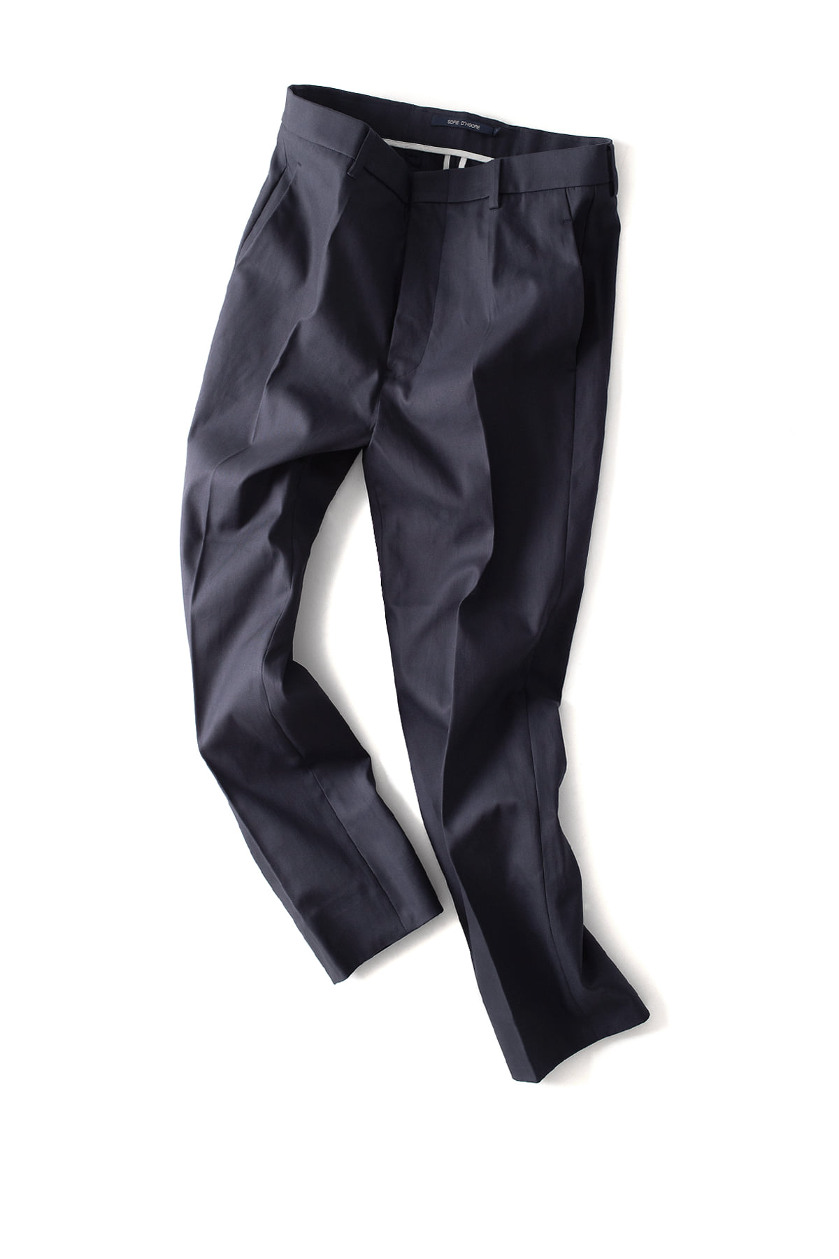 Sofie D'Hoore : Classic Fitted Pants (Navy)