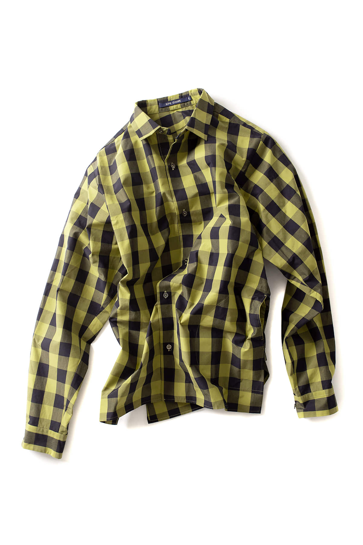 Sofie D'Hoore : LSLV Shirts With Side Slits (Olive)