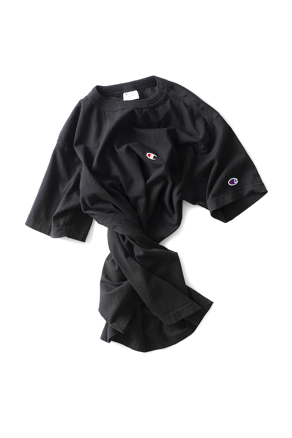 Champion : Basic T-Shirt (Black)