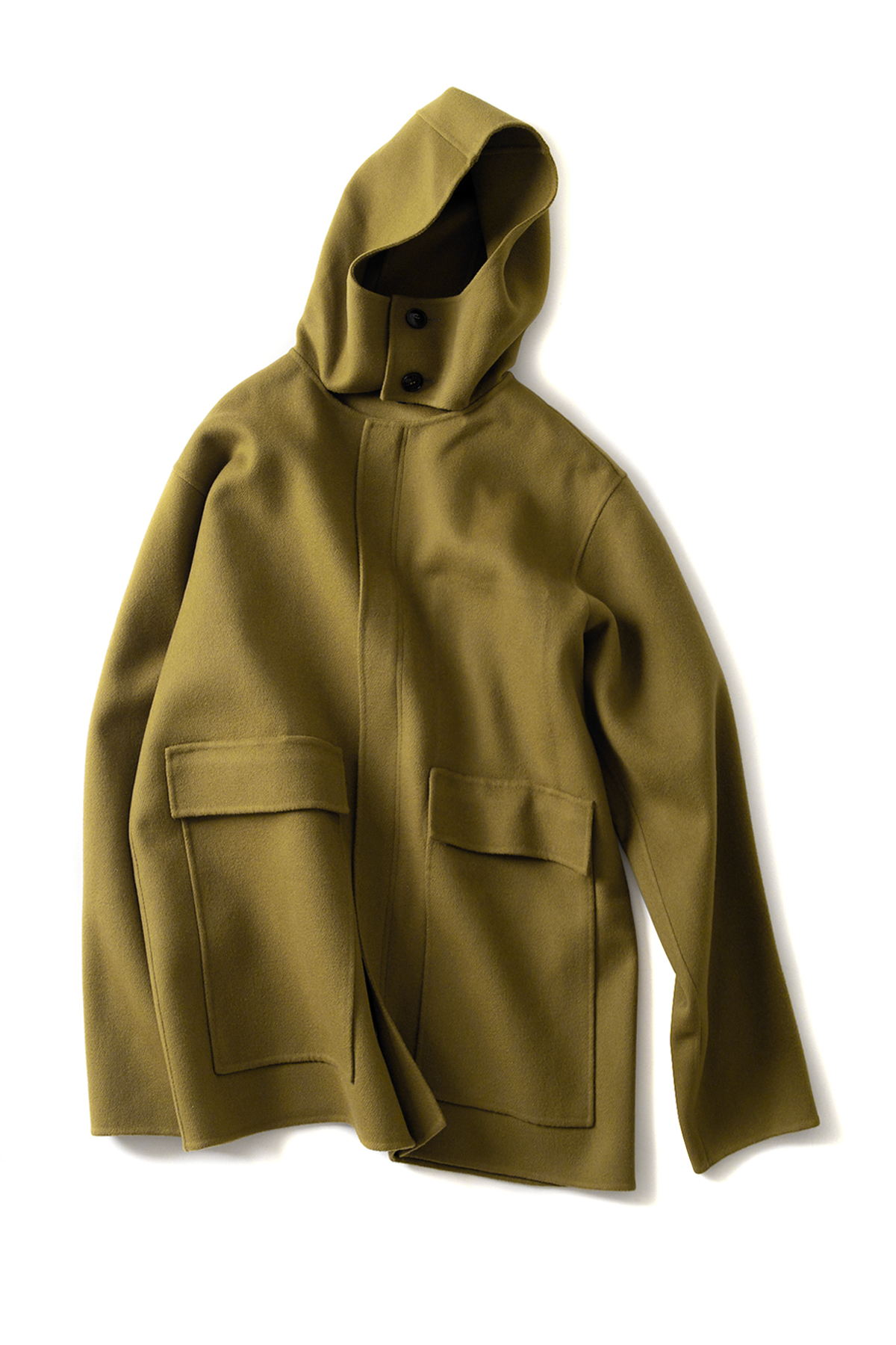 Sofie D'Hoore : Hooded Coat (Khaki)