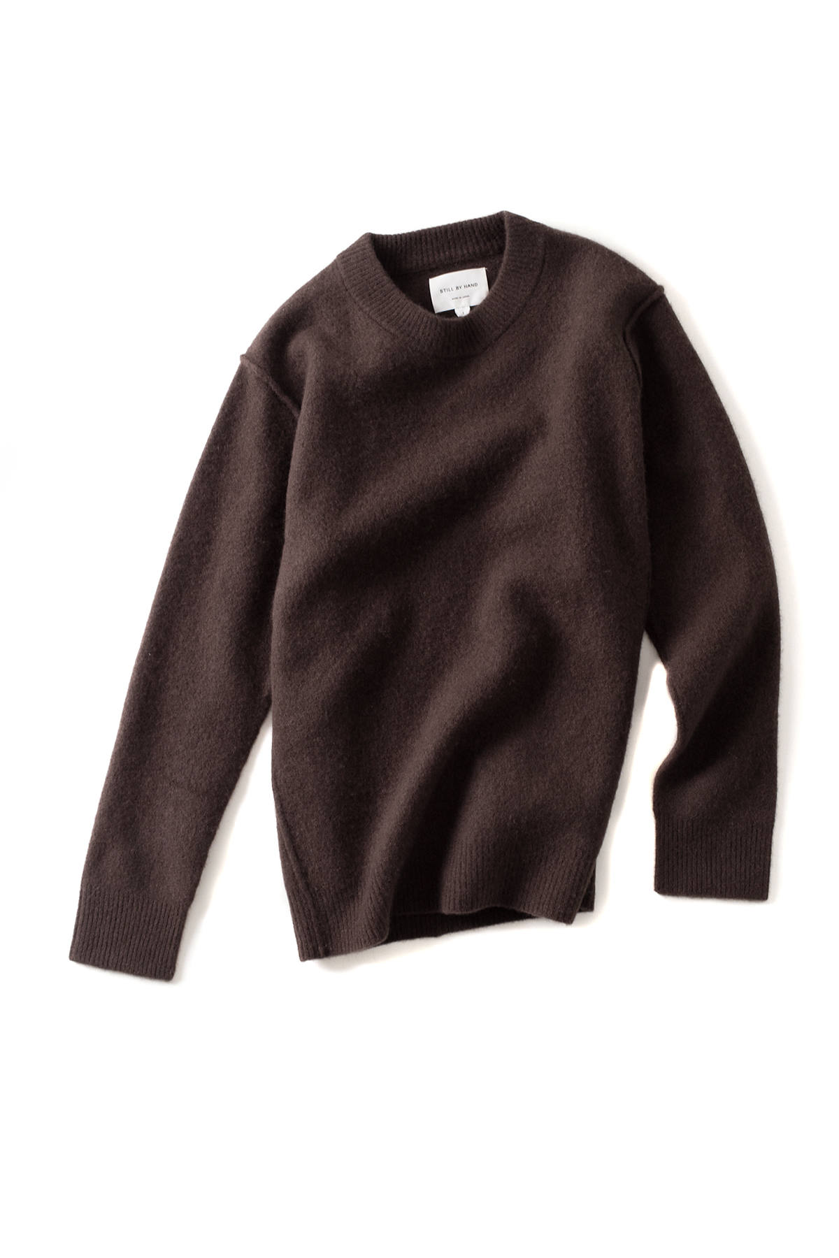 Still by Hand : Shaggy Knit (Brown)