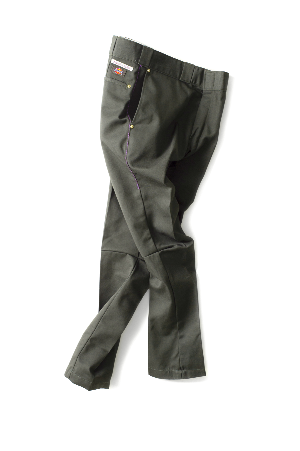 NEEDLES : Dimension Slim Dickies 874 (Olive)