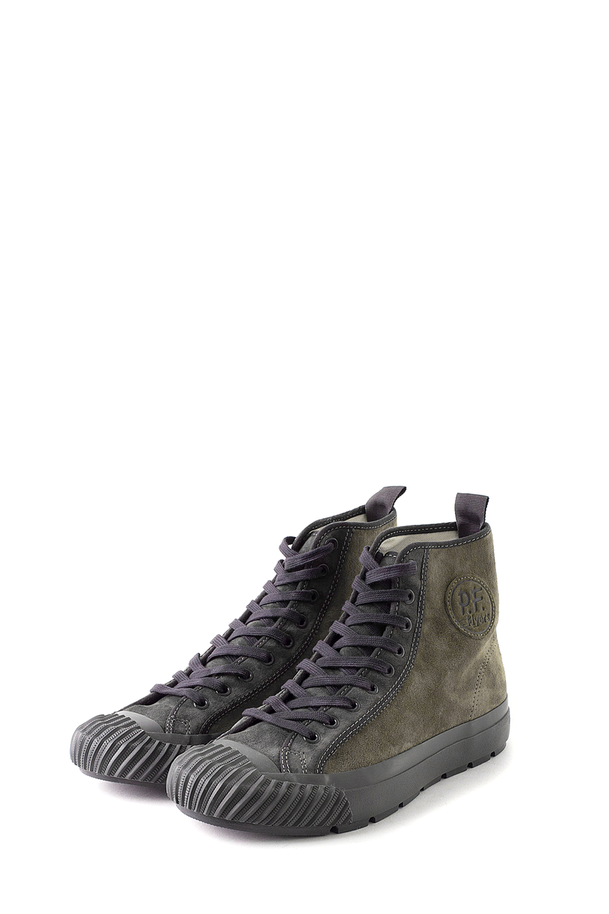 Eastlogue x PF FLYERS : Ground High (Khaki)