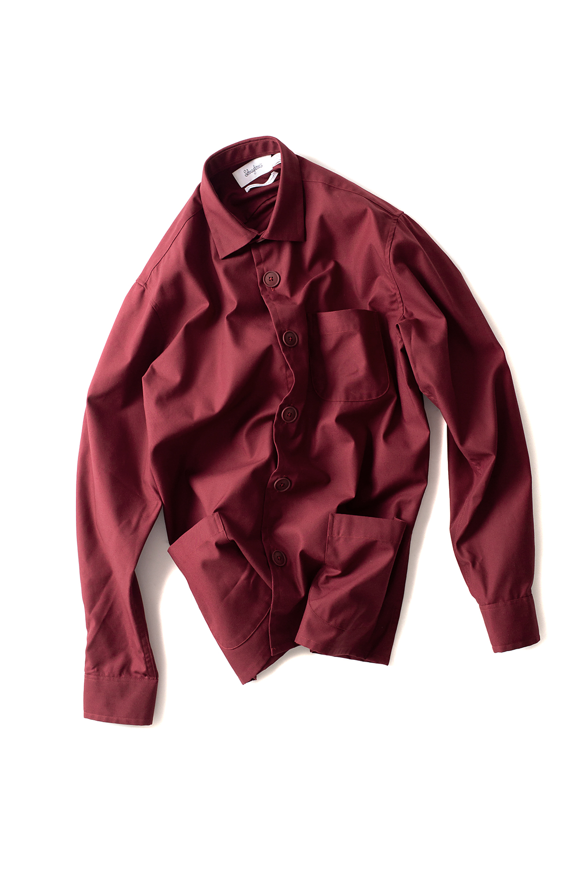 Schnayderman's : Overshirt Tech Twill (Burgundy)
