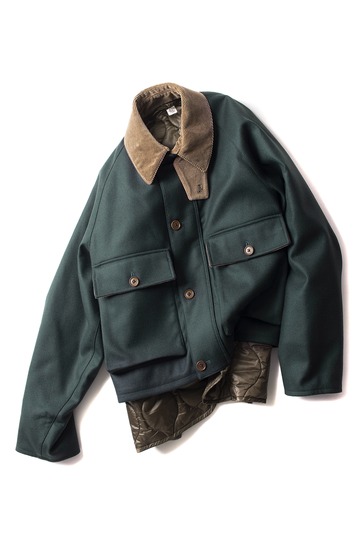 Kaptain Sunshine : Layered Fisherman JK (Green)